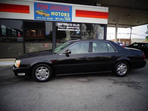 2002 Cadillac DeVille for sale in Allentown, PA