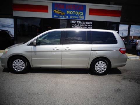 2005 Honda Odyssey for sale at Penn American Motors LLC in Allentown PA