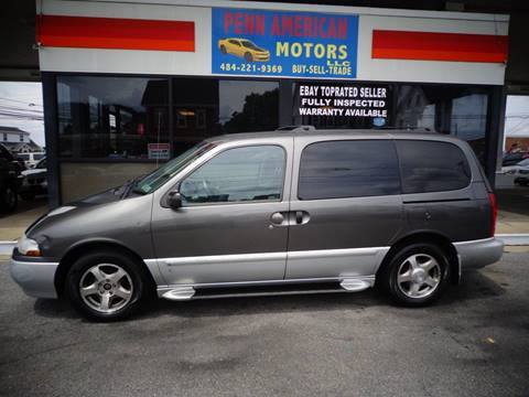 2002 Nissan Quest for sale in Allentown, PA