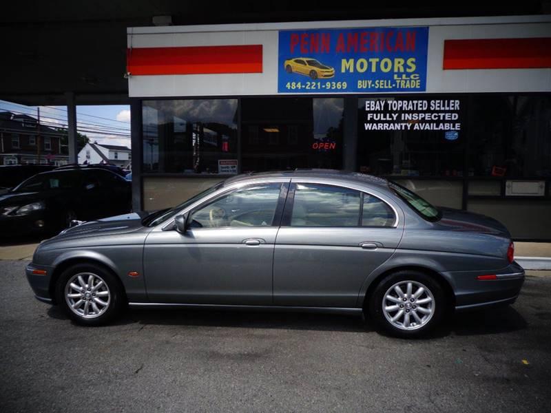 2002 Jaguar S Type For Sale At Penn American Motors LLC In Allentown PA
