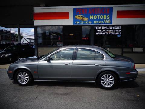 2002 Jaguar S-Type for sale at Penn American Motors LLC in Allentown PA