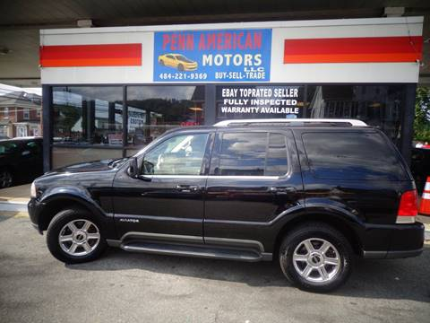 2005 Lincoln Aviator for sale in Allentown, PA