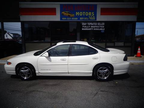 2002 Pontiac Grand Prix for sale in Allentown, PA