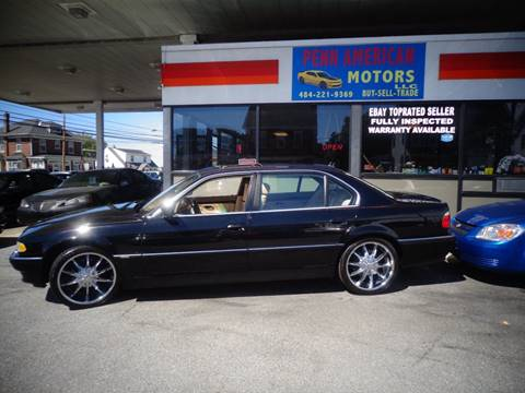 2001 BMW 7 Series for sale in Allentown, PA