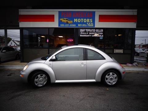 2000 Volkswagen New Beetle for sale in Allentown, PA
