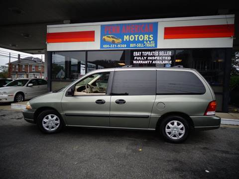 2003 Ford Windstar for sale in Allentown, PA