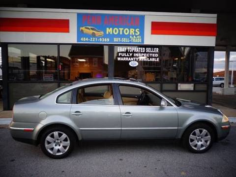 2005 Volkswagen Passat for sale at Penn American Motors LLC in Allentown PA