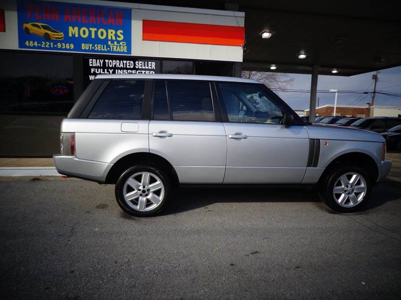 2005 Land Rover Range Rover for sale at Penn American Motors LLC in Allentown PA