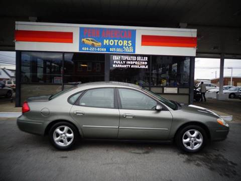 2003 Ford Taurus for sale at Penn American Motors LLC in Allentown PA