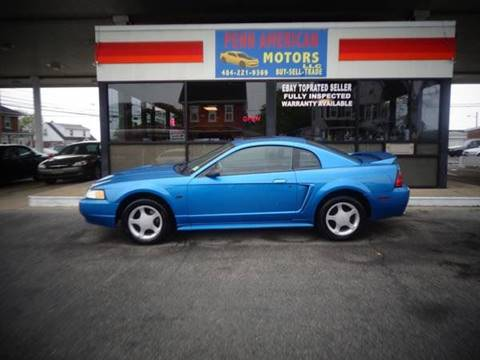 2000 Ford Mustang for sale at Penn American Motors LLC in Allentown PA