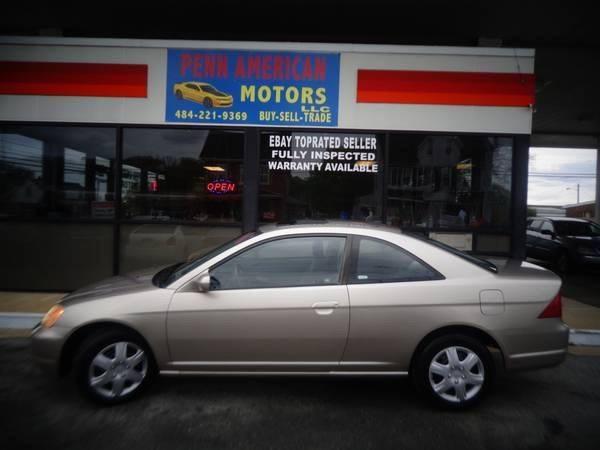 2002 Honda Civic for sale at Penn American Motors LLC in Allentown PA