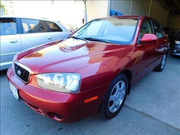 2002 Hyundai Elantra for sale at Tootles Auto Sales in Sacramento CA