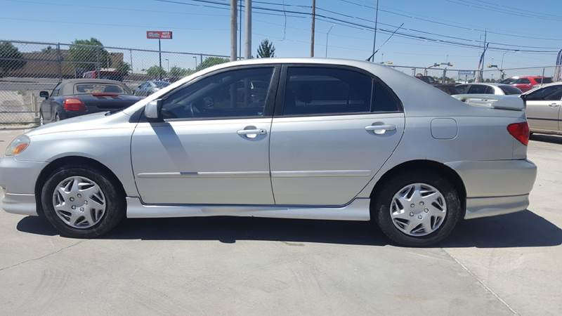 2003 Toyota Corolla For Sale At LUXER MOTORS In El Paso TX