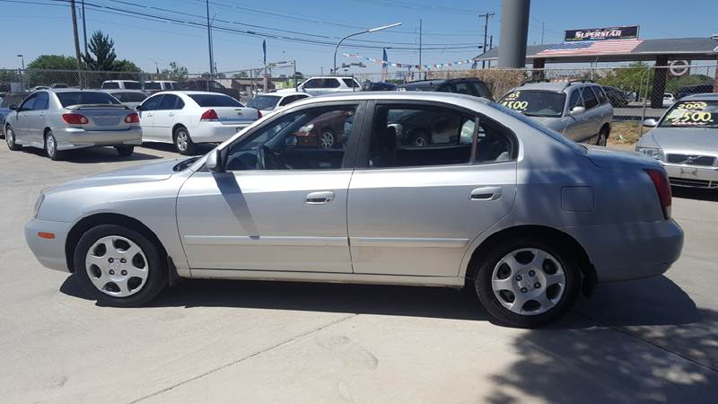 2002 Hyundai Elantra For Sale At LUXER MOTORS In El Paso TX