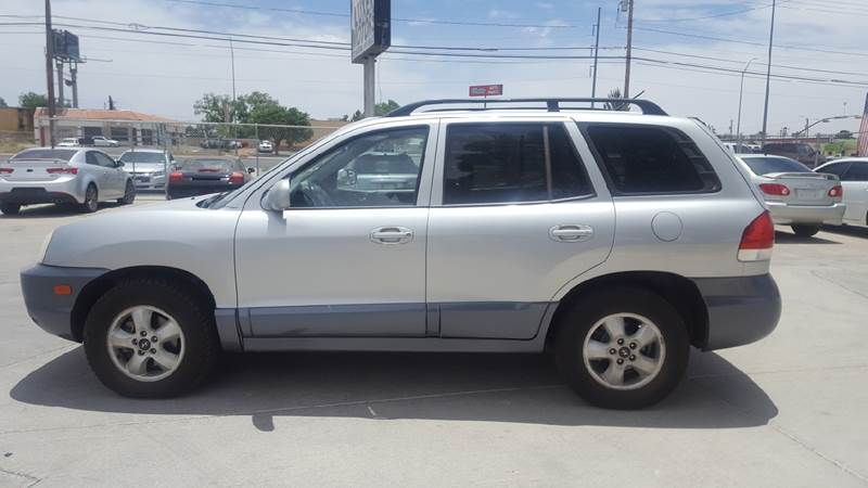 2005 Hyundai Santa Fe For Sale At LUXER MOTORS In El Paso TX
