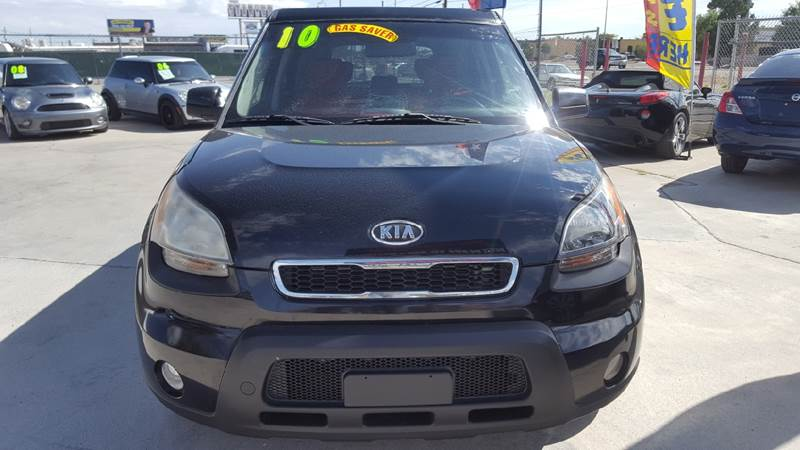 2010 Kia Soul For Sale At LUXER MOTORS In El Paso TX