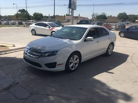 2012 Ford Fusion for sale in El Paso, TX