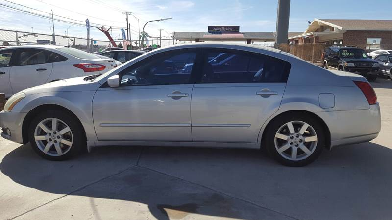 2005 Nissan Maxima For Sale At LUXER MOTORS In El Paso TX