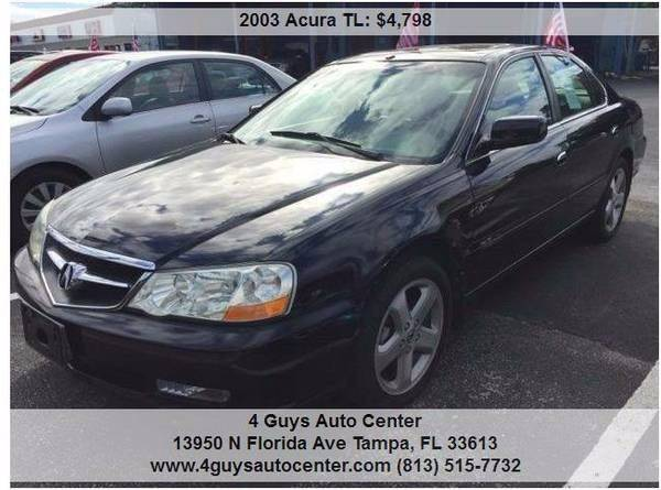2003 Acura TL for sale at 4 Guys Auto in Tampa FL