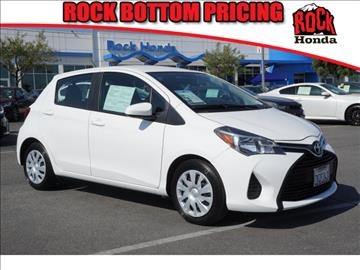2015 Toyota Yaris for sale in Fontana, CA