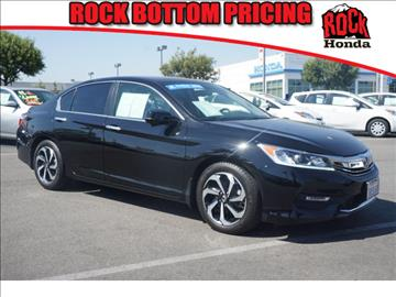 2016 Honda Accord for sale in Fontana CA
