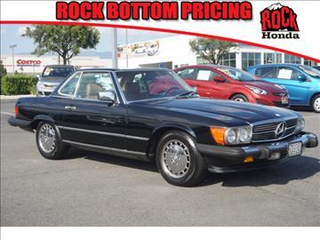 1987 Mercedes-Benz 560-Class for sale in Fontana CA