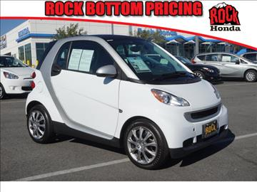 2012 Smart fortwo for sale in Fontana, CA