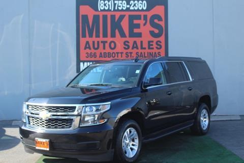 2016 Chevrolet Suburban for sale in Salinas, CA
