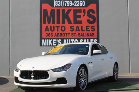 2016 Maserati Ghibli for sale in Salinas, CA
