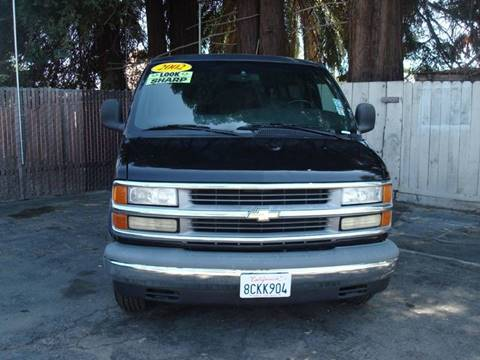 2002 Chevrolet Express Cargo for sale in Vallejo, CA