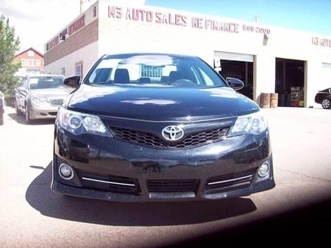 2014 Toyota Camry For Sale >> 2014 Toyota Camry For Sale In El Paso Tx