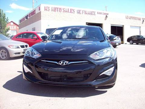2015 Hyundai Genesis Coupe for sale in El Paso, TX