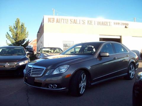 Mercedes El Paso >> 2011 Mercedes Benz E Class For Sale In El Paso Tx