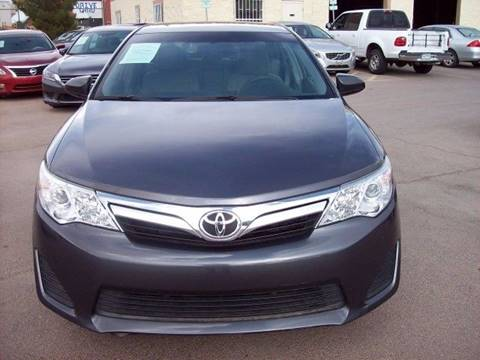 Toyota Camry For Sale in El Paso TX  Carsforsalecom