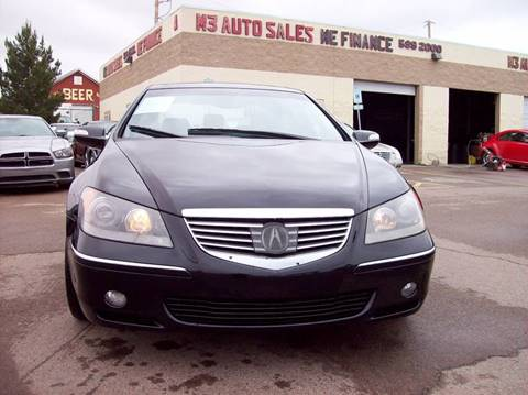 2007 Acura RL for sale in El Paso, TX