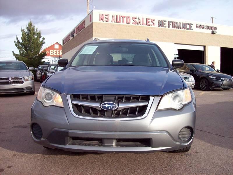 2008 Subaru Outback AWD 4dr Wagon 4A In El Paso TX - M 3 ...