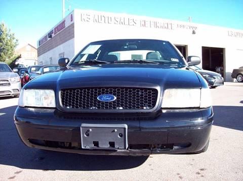 2010 Ford Crown Victoria for sale in El Paso, TX