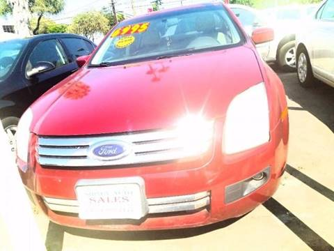 2008 Ford Fusion for sale at Sidney Auto Sales in Downey CA
