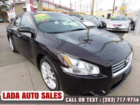 2014 nissan maxima for sale in connecticut. Black Bedroom Furniture Sets. Home Design Ideas