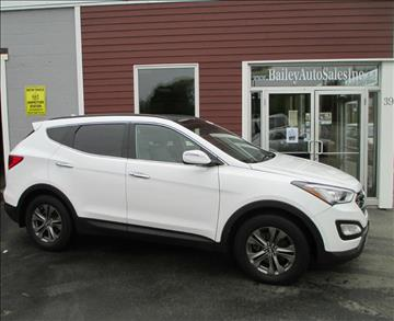 2014 Hyundai Santa Fe Sport for sale at Percy Bailey Auto Sales Inc in Gardiner ME