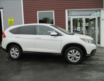 2014 Honda CR-V for sale at Percy Bailey Auto Sales Inc in Gardiner ME