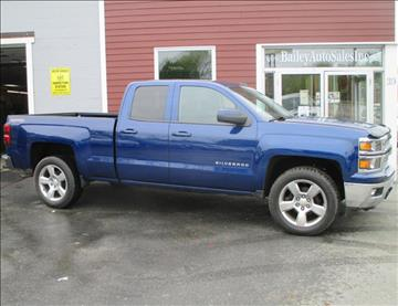 2014 Chevrolet Silverado 1500 for sale at Percy Bailey Auto Sales Inc in Gardiner ME