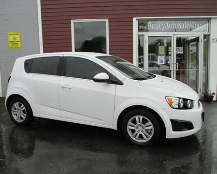 2014 Chevrolet Sonic for sale at Percy Bailey Auto Sales Inc in Gardiner ME