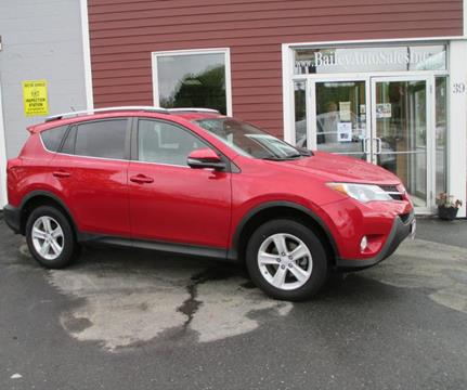 2014 Toyota RAV4 for sale at Percy Bailey Auto Sales Inc in Gardiner ME
