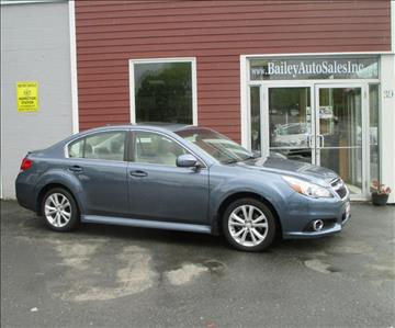 2014 Subaru Legacy for sale at Percy Bailey Auto Sales Inc in Gardiner ME