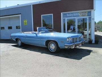 1975 Oldsmobile Delta Eighty-Eight for sale at Percy Bailey Auto Sales Inc in Gardiner ME