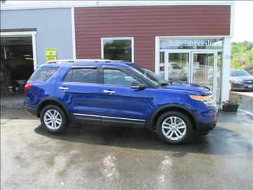 2014 Ford Explorer for sale at Percy Bailey Auto Sales Inc in Gardiner ME
