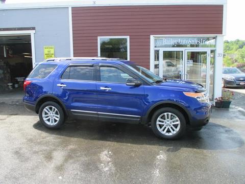 2014 Ford Explorer for sale in Gardiner, ME