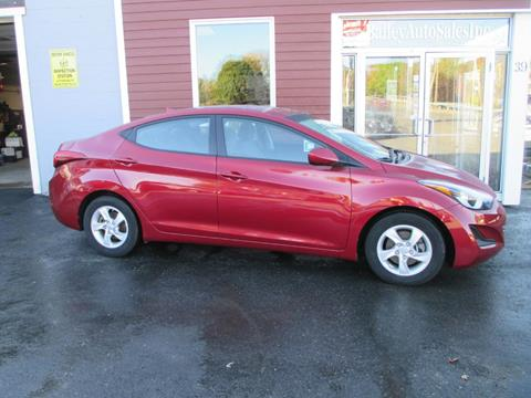 2014 Hyundai Elantra for sale at Percy Bailey Auto Sales Inc in Gardiner ME
