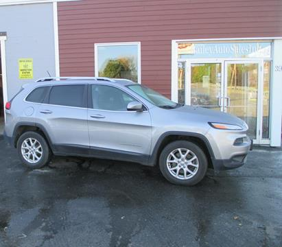 2014 Jeep Cherokee for sale at Percy Bailey Auto Sales Inc in Gardiner ME